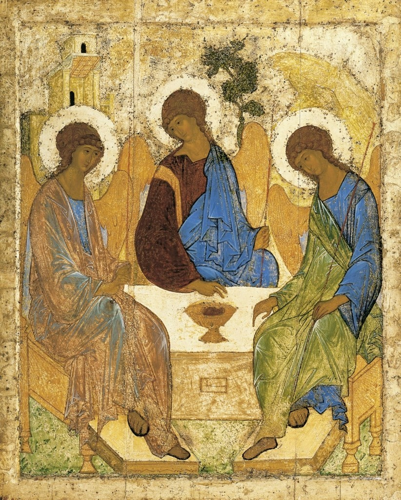 Andriej Rublow (1360-1427), rosyjski malarz ikon, symbol Świętej Rusi